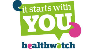 Healthwatch England It starts with you campaign logo
