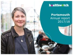 Healthwatch Portsmouth annual report 2017-2018