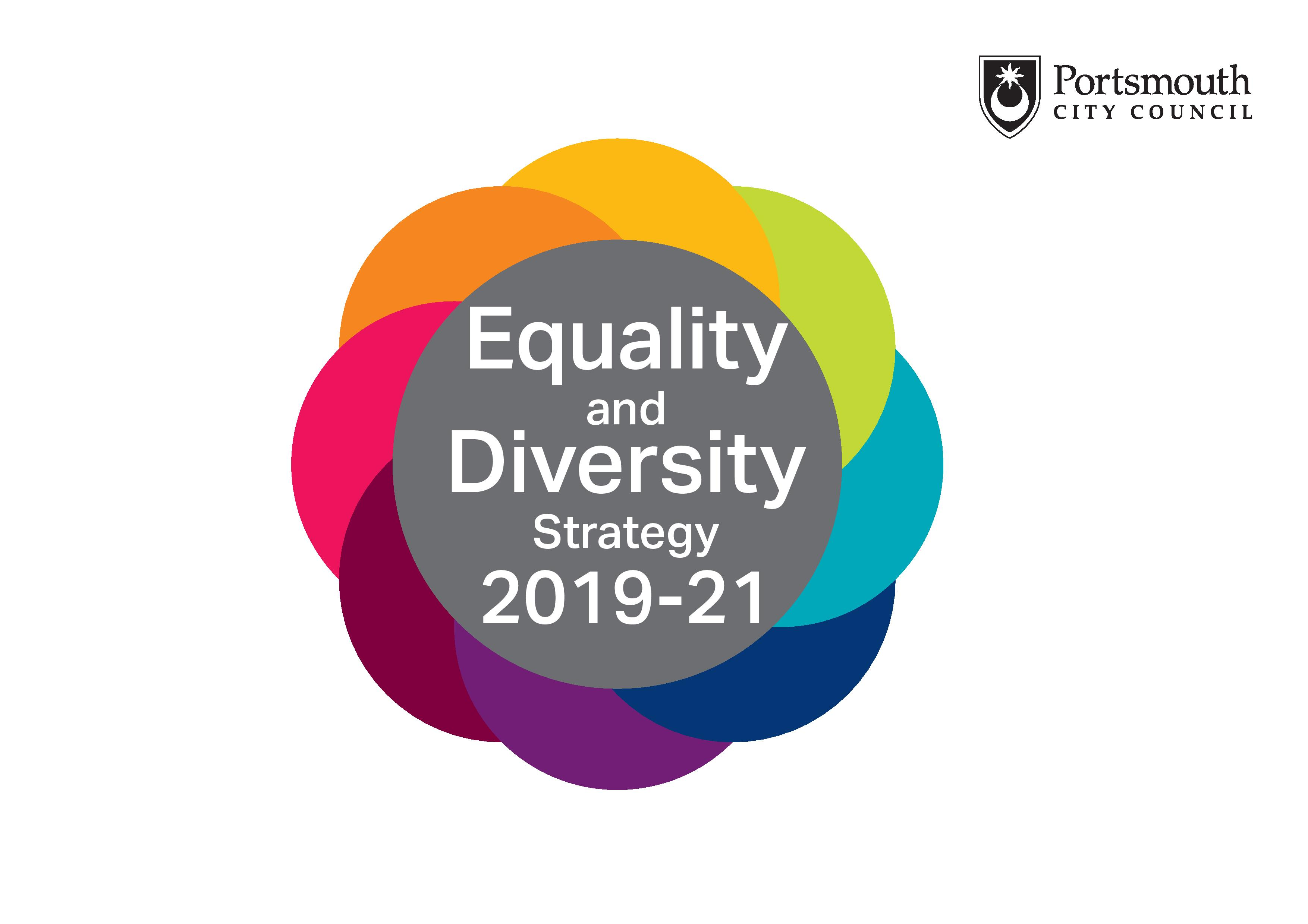 Portsmouth City Council Equality and diversity strategy logo