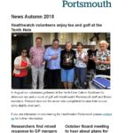 Healthwatch Portsmouth autumn 2018 news cover