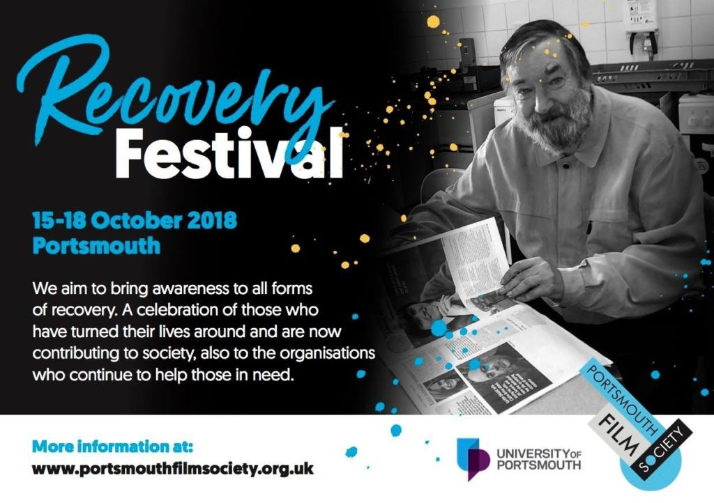 Recovery film festival flyer